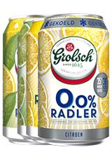 Grolsch Radler Ice Tea 0%/Lemon 0%/ Limoen0%/ Lemon 2%