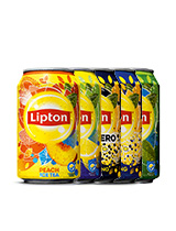 Lipton Ice Tea Green blik/ No Bubb. Peach/ Lemon/ Sparking/ Zero